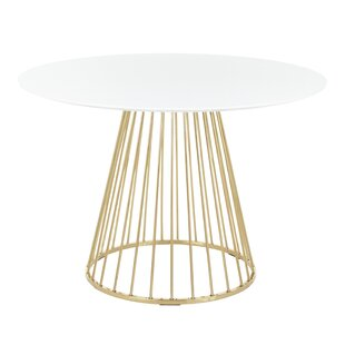 Lystra Dining Table by Everly Quinn Great price