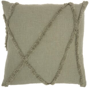 Remi Cotton Throw Pillow Cover & Insert