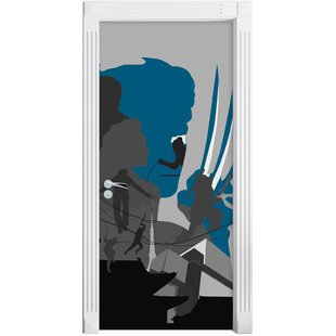 Wolverine With Extended Blades Door Sticker By East Urban Home