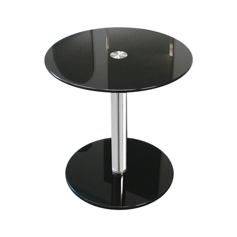 Charmant Modern Glass End Table