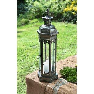 Buy clear Metal/Glass Lantern By Pier Surplus
