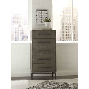 Ascher 5 Drawer Chest