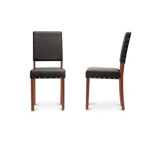 Baxton Studio Upholstered Dining Chair (Set Of 4)
