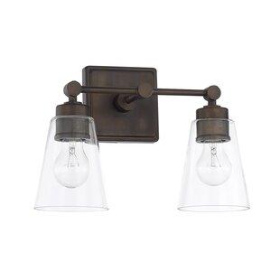 Three Posts Gallego 2-Light Vanity Light