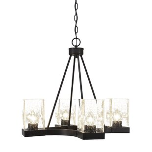 Ebern Designs Karson 4-Light Shaded Chandelier