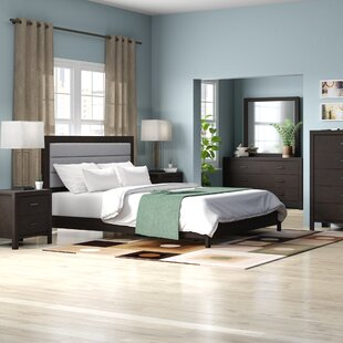 Vanderhoff Panel 5 Piece Bedroom Set