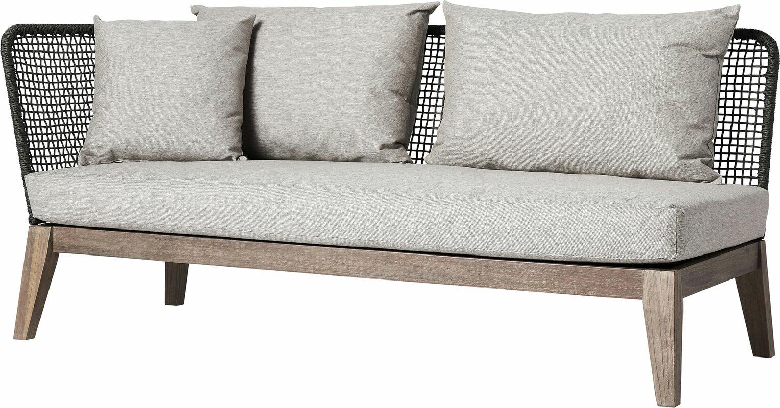 Netta Patio Sofa With Cushion