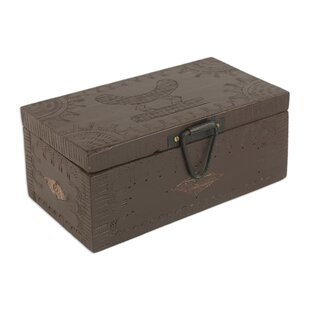 Find Queen Wood Jewelry Box By Bloomsbury Market