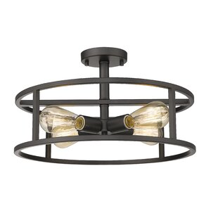 Renton 4-Light Semi Flush Mount by Williston Forge
