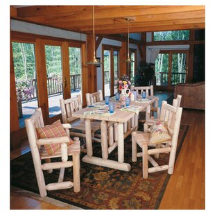 Log Solid Wood Dining Table by Rustic Nat..