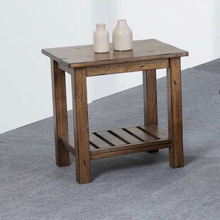 Look for Rutledge End Table By Rosecliff Heights