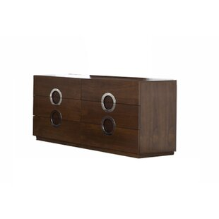 Salia 6 Drawer Double Dresser