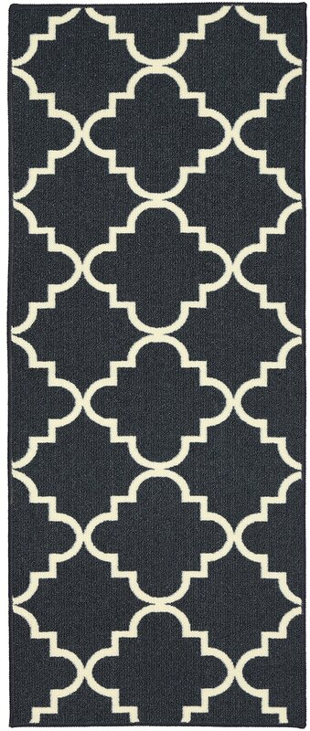 navy black and white pictures for bathrooms. Hanley Navy And White Area Rug Charlton Home  Reviews Wayfair