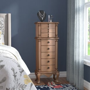 Breitkoff Jewelry Armoire by Three Posts