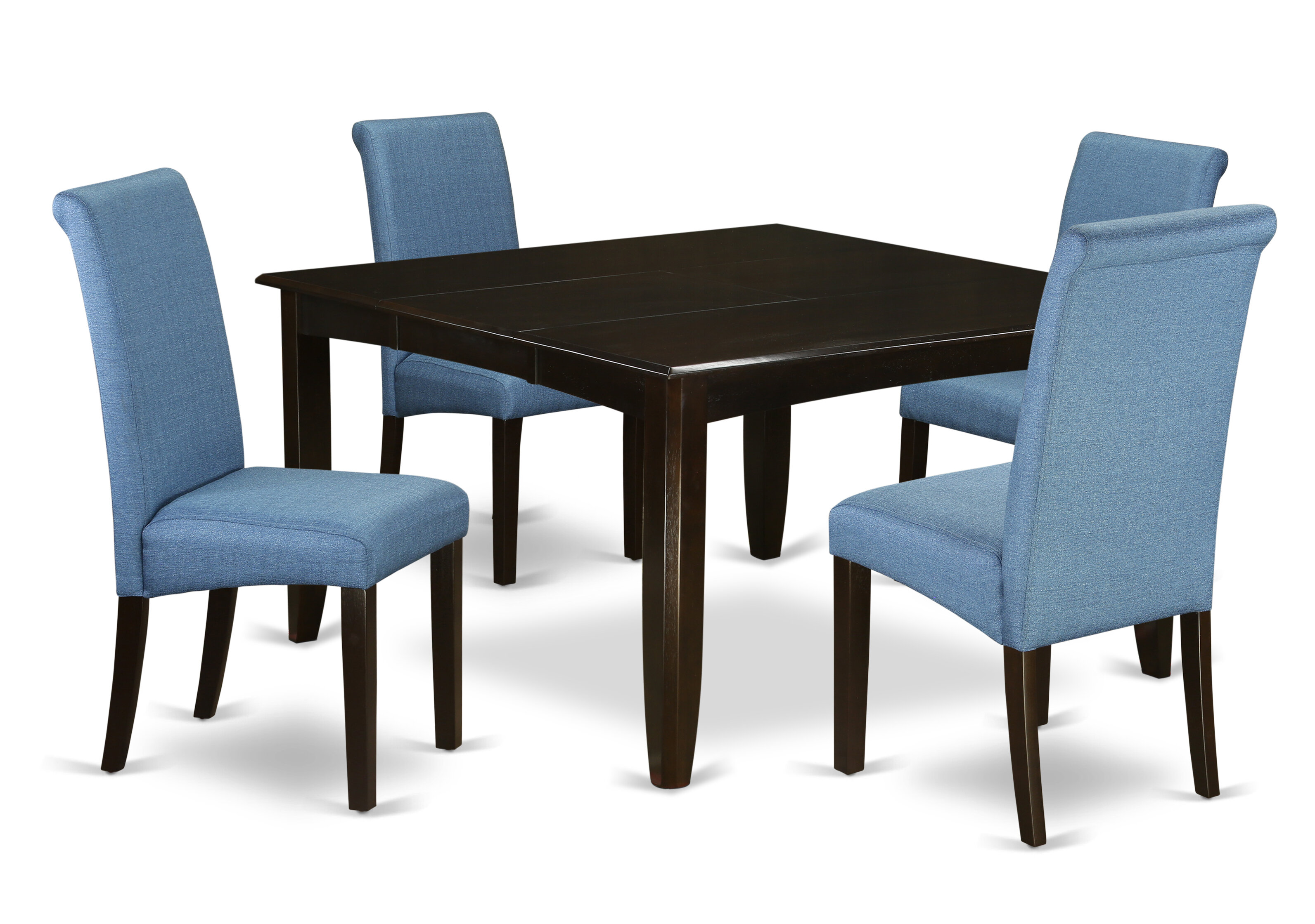 Peachy Lexie Square Kitchen Table 5 Piece Extendable Solid Wood Dining Set Beutiful Home Inspiration Xortanetmahrainfo