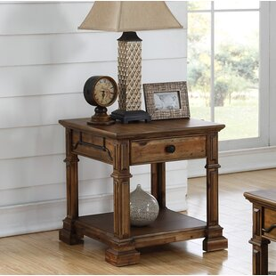 Millwood Pines Barger End Table