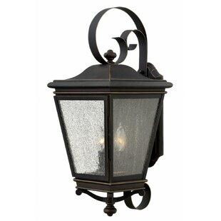 Charlton Home Pullins 3-Light Outdoor Wall Lantern