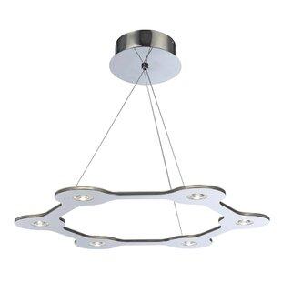 Obrien 6-Light LED Chandelier by Orren Ellis