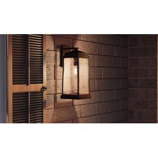 Compare prices Endres Outdoor Wall Lantern By Charlton Home