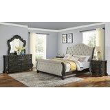 Nueva Sleigh Configurable Bedroom Set by Astoria Grand