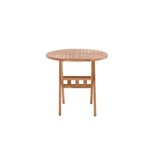 Laraine Folding Teak Bistro Table By Sol 72 Outdoor