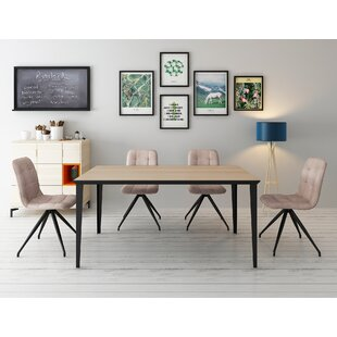 Gries Dining Set With 4 Chairs By Brayden Studio
