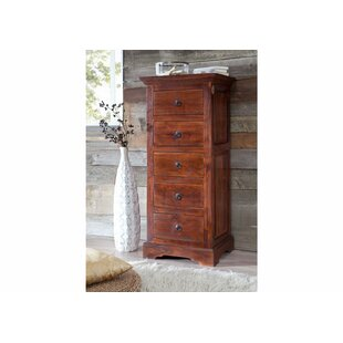 Oxford 5 Drawer Chest By Massivmoebel24