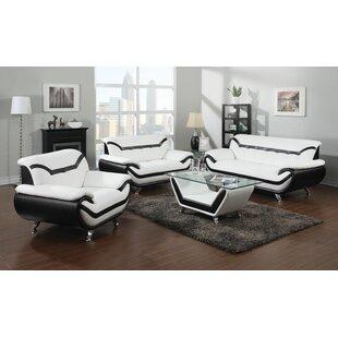 Orren Ellis Emanuel Leather Configurable ..