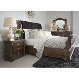 Gunnell Sleigh Solid Wood Configurable Bedroom Set by Fleur De Lis Living