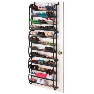 Sunbeam 36 Pair Overdoor Shoe Organizer