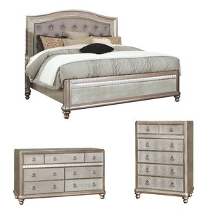 Annunziata Panel Configurable Bedroom Set