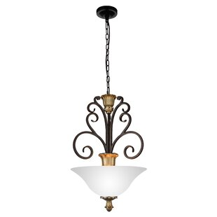 CWI Lighting Presley 3-Light Bowl Pendant