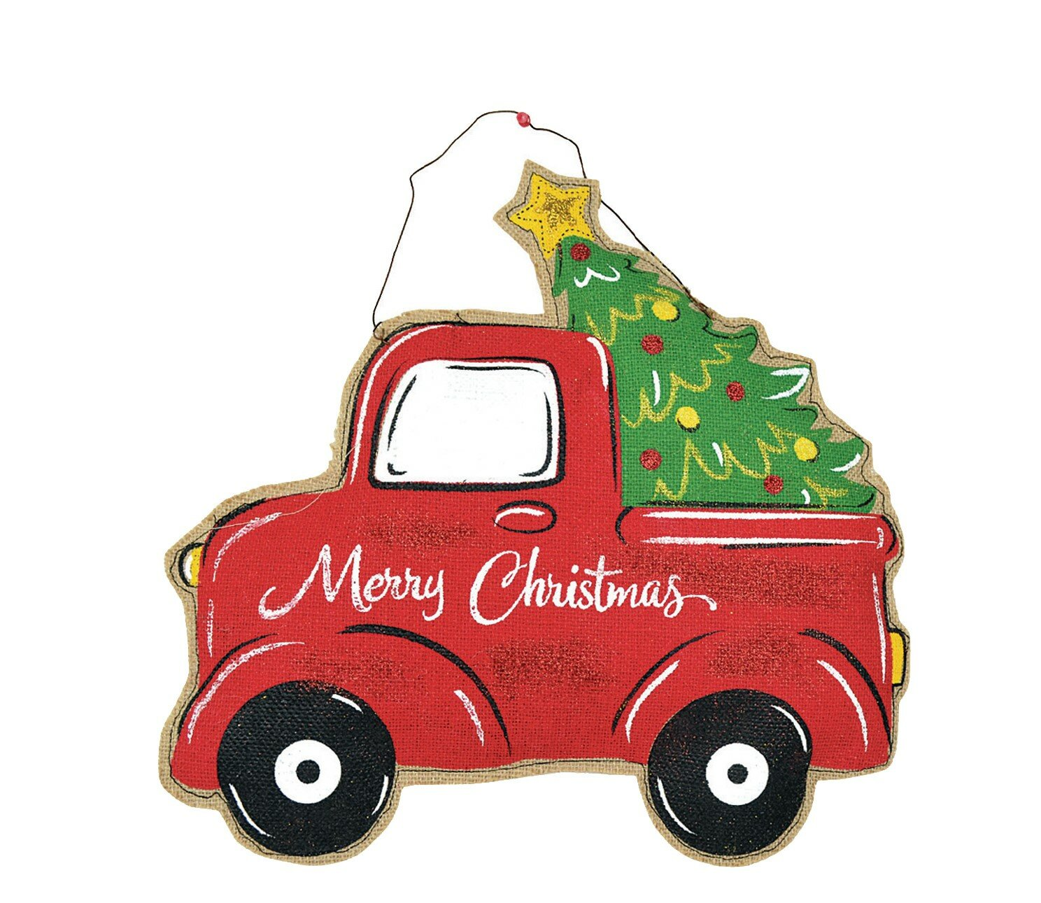 The Holiday Aisle Christmas Tree Pick Up Truck Door Hanger Wayfair Learn tips, ticks and more. christmas tree pick up truck door hanger