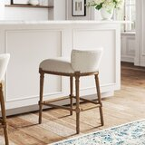 Caroline 26.25 Bar Stool by Kelly Clarkson Home