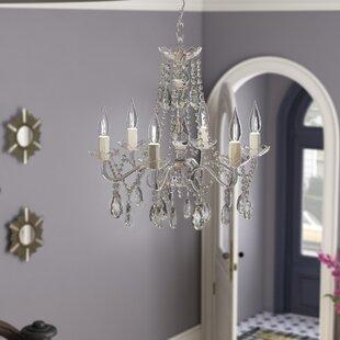 Alida 5-Light Candle Style Chandelier