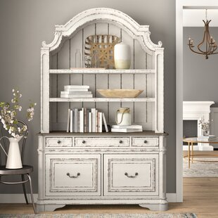Salinas Corner Credenza Desk with Hutch by Birch Lane™ Heritage