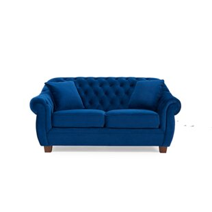 Daventry 2 Seater Chesterfield Sofa By Rosalind Wheeler