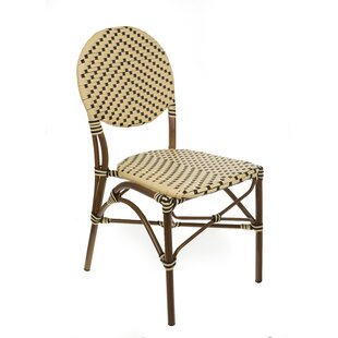 Shadwick Cafe Bistro Stacking Patio Dining Chair