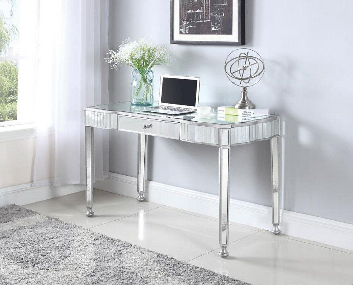 Mirrored Rosdorf Park Desks You Ll Love In 2021 Wayfair