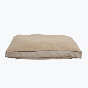 Four Season Dog Pillow with Cashmere Berber Top