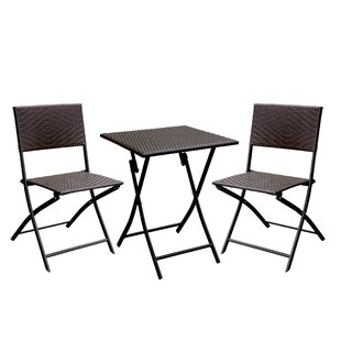 Gearhart Cottage 3 Piece Bistro Set