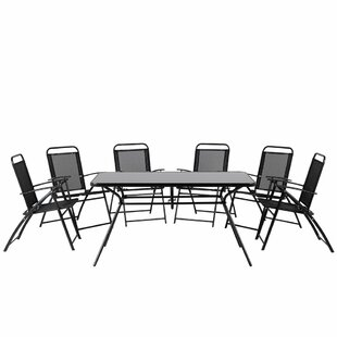 Goldfarb Outdoor 7 Piece Dining Set