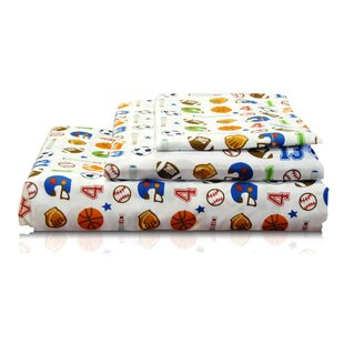 Textile City Sport 2 200 Thread Count 100% Cotton Sheet Set