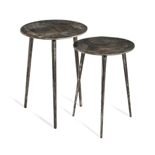 Lucia 2 Piece Nesting Tables by Interlude