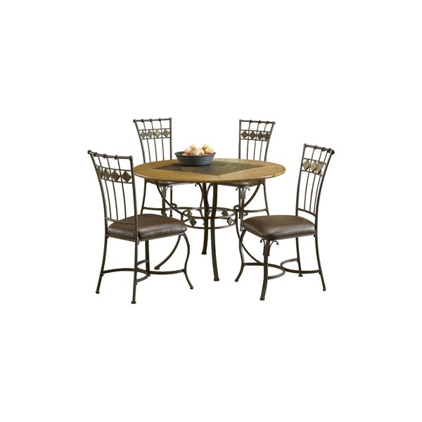 Red Barrel Studio Boyers 5 Piece Dining Set U0026 Reviews | Wayfair