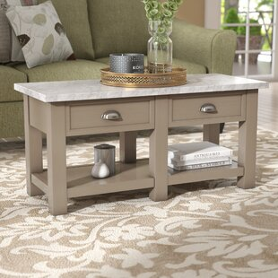Villines Faux Coffee Table by Charlton Home