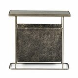 Brushed Silver Side Table Wayfair