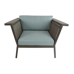Brayden Studio Marina Geo Club Chair with..
