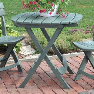 Umbrella Hole Outdoor Bistro Tables You Ll Love Wayfair Ca