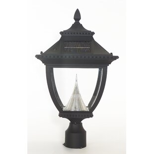 Pagoda Solar 1-Light LED Lante..